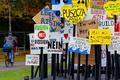 Le 6 novembre 2017, dans le parc Rheinaue de Bonn, ville hôte de la COP23. Patrik Stollarz/AFP